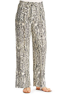 Jessica Simpson Lanay Jungle Wide Leg Pant