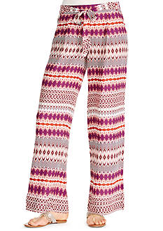 Jessica Simpson Lanay Sunburst Wide Leg Pants