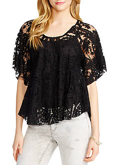 Jessica Simpson Gwen Lace Top