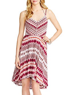 Jessica Simpson Nicola Sunburst Halter Dress