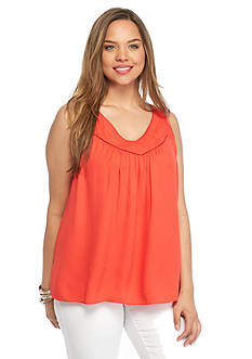 Jessica Simpson Plus Size Shelby Tank