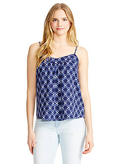 Jessica Simpson Shelby Eclipse Flower Tank