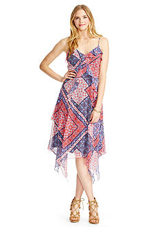 Jessica Simpson Valencia Scarf Dress