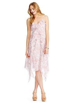Jessica Simpson Valencia Paisley Print Scarf Dress