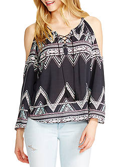 Jessica Simpson Shayna Peasant Top
