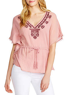 Jessica Simpson Tristan Embroidered Top