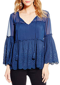 Jessica Simpson Rayna Peasant Top