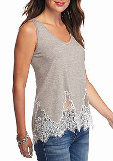 Jessica Simpson Bryanna Heathered Knit Tank