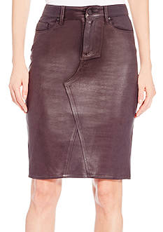 Jessica Simpson Haven Coated Pencil Skirt