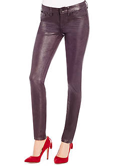 Jessica Simpson Kiss Me Coated Suede Pant