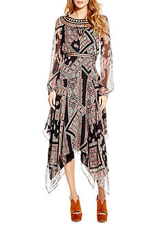 Jessica Simpson Ida Long Tapestry Dress