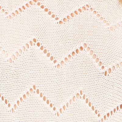 Juniors Sweaters: Oatmeal Jessica Simpson Darlanne Pointelle Sweater