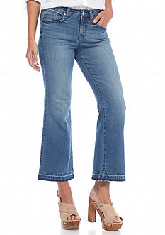 Jessica Simpson Cherish Cropped Flare Jean