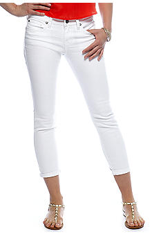 Jessica Simpson Forever Cuffed Denim Crop