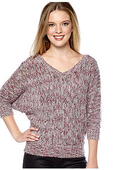 Jessica Simpson Mose Double V-Neck Sweater