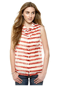 Jessica Simpson Fireworks Sleeveless Shirt