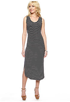 Jessica Simpson Fleur Stripe Maxi Dress