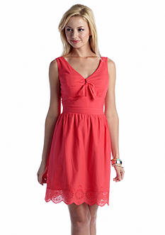 Jessica Simpson Everleigh Eyelet Dress
