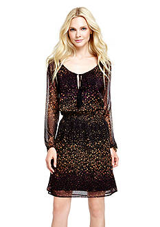 Jessica Simpson Laurelle Peasant Dress