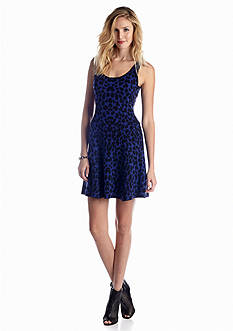 Jessica Simpson Magdala Leopard Dress