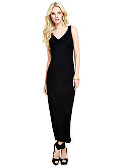 Jessica Simpson Solid Mollie Maxi Dress