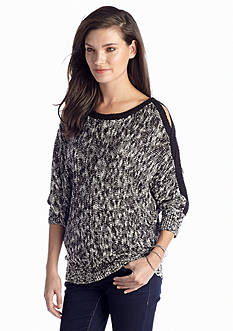 Jessica Simpson Riah Braided Sleeves Sweater