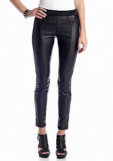 Jessica Simpson Tegan Ponte Faux Leather Legging