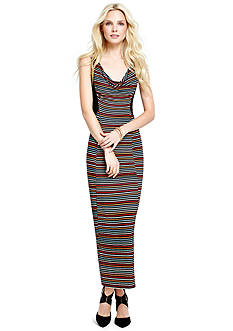 Jessica Simpson Striped Mollie Maxi Dress