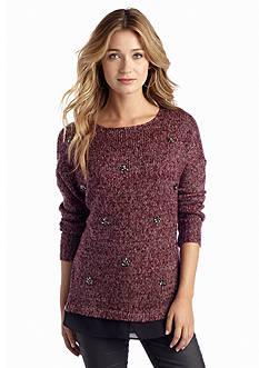 Jessica Simpson Lash Embellished Sweater