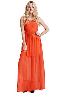 Jessica Simpson Lulu Chiffon Maxi Dress