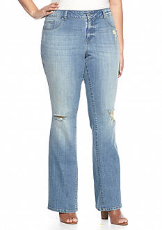 Jessica Simpson Plus Size Kiss Me Bootcut Jeans