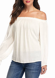 Jessica Simpson Abel Off The Shoulder Blouse