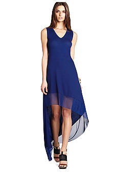 BCBGMAXAZRIA Hi Lo Hem Dress