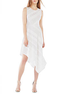 BCBGMAXAZRIA Tracie Sharkbite Dress