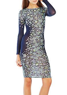 BCBGMAXAZRIA Floral Print Dress