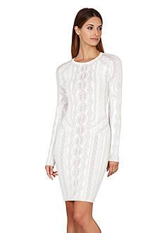BCBGMAXAZRIA Jaime Cable Dress