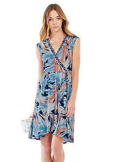 BCBGMAXAZRIA Carmelle Printed Dress