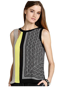 BCBGMAXAZRIA Color Block Shell