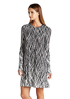 BCBGMAXAZRIA Jenna Print Knit Dress