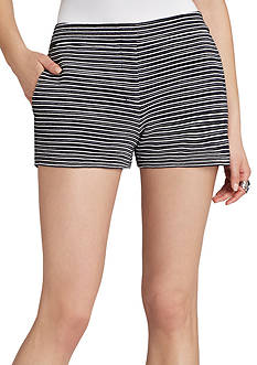 BCBGMAXAZRIA Pia Striped Short