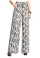 BCBGMAXAZRIA Printed Pull On Pant