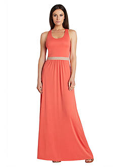 BCBGMAXAZRIA Crossback Maxi Dress