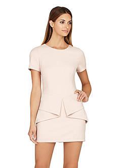 BCBGMAXAZRIA Madalyn Short Sleeve Dress
