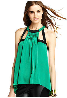 BCBGMAXAZRIA Piped Ringer Tank