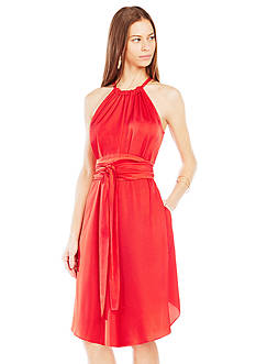 BCBGMAXAZRIA Belted Britan Dress