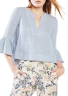 BCBGMAXAZRIA Valari Striped Tunic Top