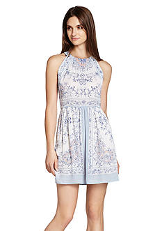 BCBGMAXAZRIA Cambria Print Dress