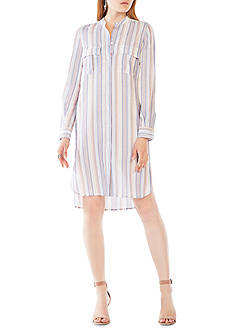 BCBGMAXAZRIA Stripe Shirtdress