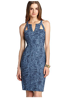 BCBGMAXAZRIA Cutout Sheath Dress