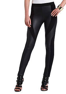 BCBGMAXAZRIA Aaric Faux Leather Legging
